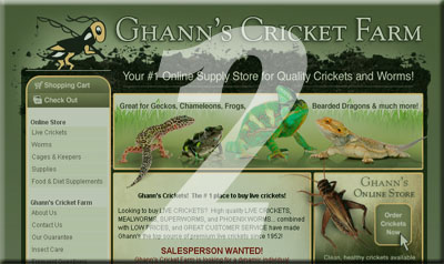 Ghann's Cricket Farm